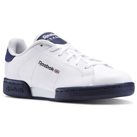 SAUJO01419 Sneakers V70395 Reebok Classic npc II white and blue