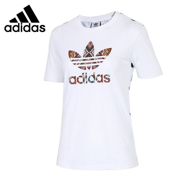 SAULA01419 Original New Arrival 2018 Adidas Originals FARM TEE Women's T-shirts  short sleeve Sportswear