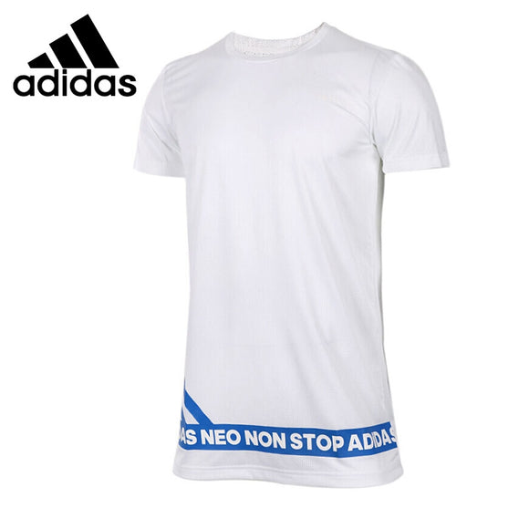 Origi New Arrival  Adidas NEO Label M VERTICAL 3S T Men's T-shirts short sleeve Sportswear