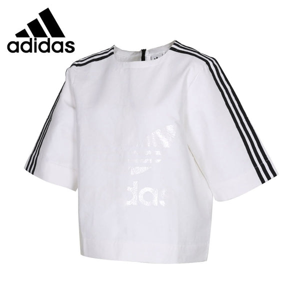 Original New Arrival 2018 Adidas Originals Women's  T-shirts  short sleeve Sportswear