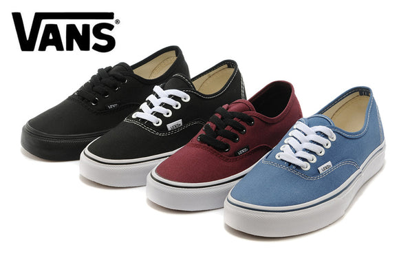 VANS Authentic Classic Womens Sneakers shoes,canvas shoes,Sports  Weight lifting shoes Free Shipping  Four color size36-39