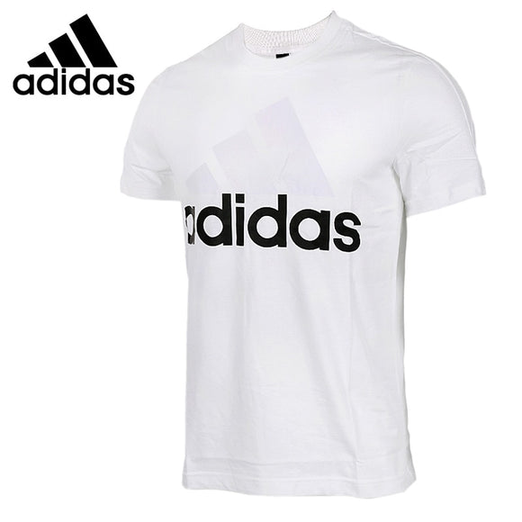 Original New Arrival 2018 Adidas ESS LINEAR TEE Men's T-shirts short sleeve Sportswear