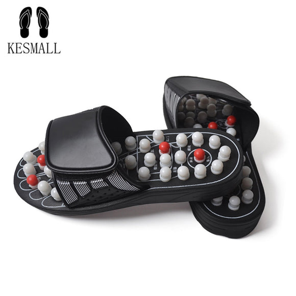 SAUDO01419 KESMALL Massage Slipper Shoes Men Summer Slipper acupoint Healthcare Slipper Health Rotating Accupressure Foot Slippers for Men