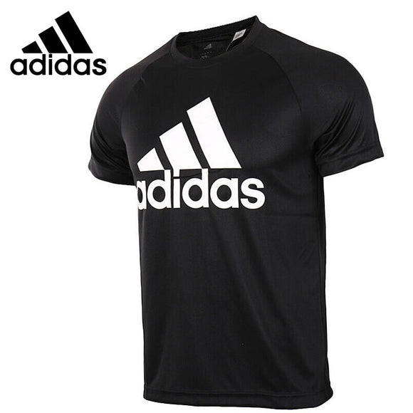 Original New Arrival 2018 Adidas D2M TEE LOGO Men's T-shirts short sleeve Sportswear