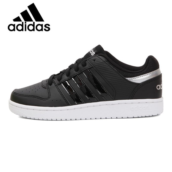 Original Authentic Adidas NEO Label HOOPS Women's Skateboarding Shoes Sneakers Hard-Wearing Shoes Adidas Leisure DB2550 Classic