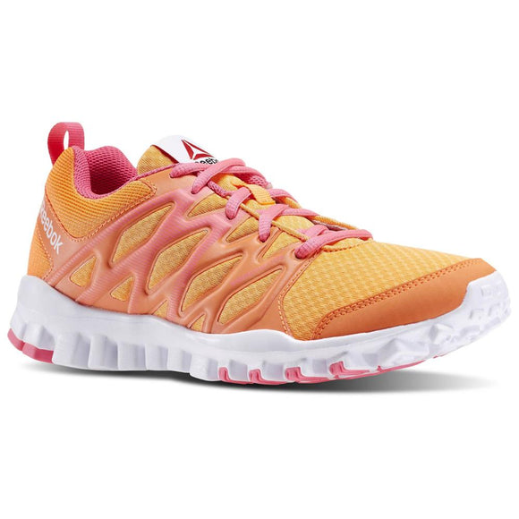 4.0 orange woman sneakers V72670 Reebok RealFlex shoes