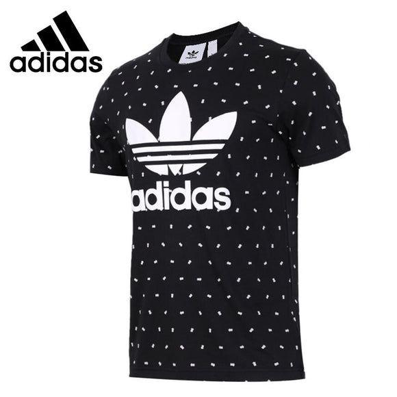 Original New Arrival 2018 Adidas Originals TREFOIL TEE Men's T-shirts short sleeve Sportswear