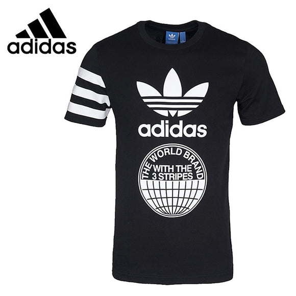 Original New Arrival  Adidas Originals STREET GRAPH Men's T-shirts  short sleeve Sportswear