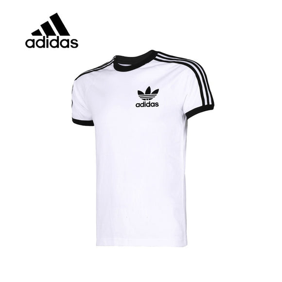 Adidas Original New Arrival Authentic Men's O-neck T-shirts Short Sleeve Breathable Sportswear Tees CW1203
