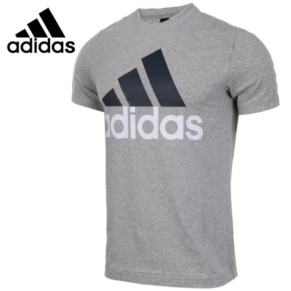 SAULA01419 Original New Arrival 2018 Adidas ESS LINEAR TEE Men's T-shirts short sleeve Sportswear