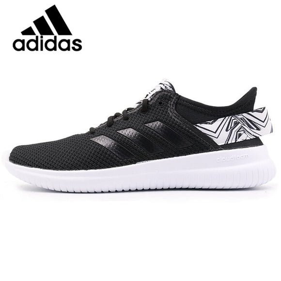 Official Original Adidas NEO Label QTFLEX Thread Women's Skateboarding Shoes Sneakers Breathable Adidas Women Shoes Comfortable