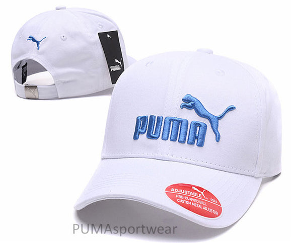 New Arrival 2018 Original PUMA Pre-Curyed Bill Adjustable Metal Hat Unisex Baseball Golf Sport Caps Sportswear