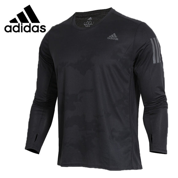 Original New Arrival  Adidas RS LS TEE M Men's T-shirts Long sleeve Sportswear