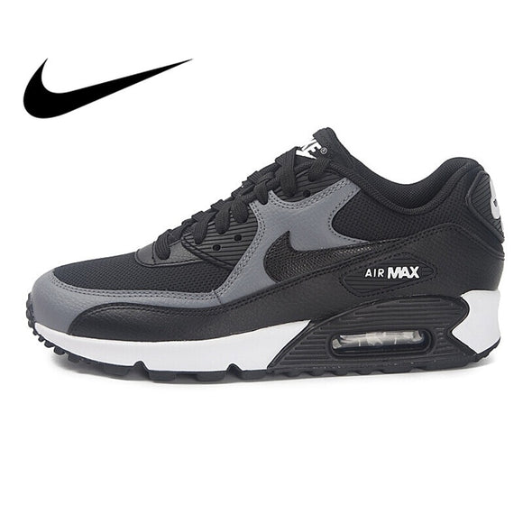 419SAUPHIGE01 Original NIKE WMNS AIR MAX 90 Women's Running Shoes Sneakers Breathable Nike Shoes Women Low Top Cushioning Comfortable 325213