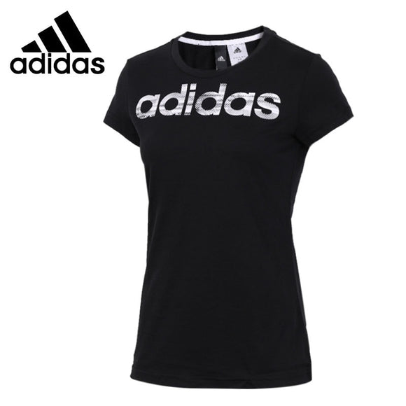 Original New Arrival  Adidas  Com MS Tee Women's  T-shirts  short sleeve Sportswear