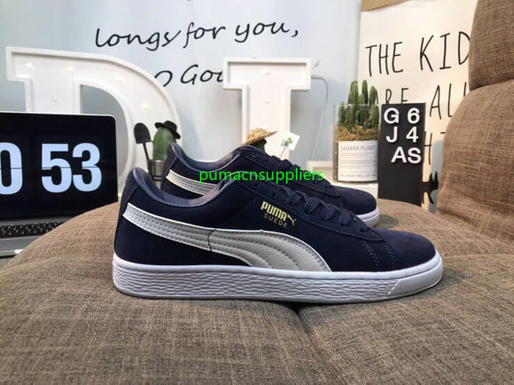 free shipping Puma shoes men reproduction of the classic leather material puma shoes men size36-44
