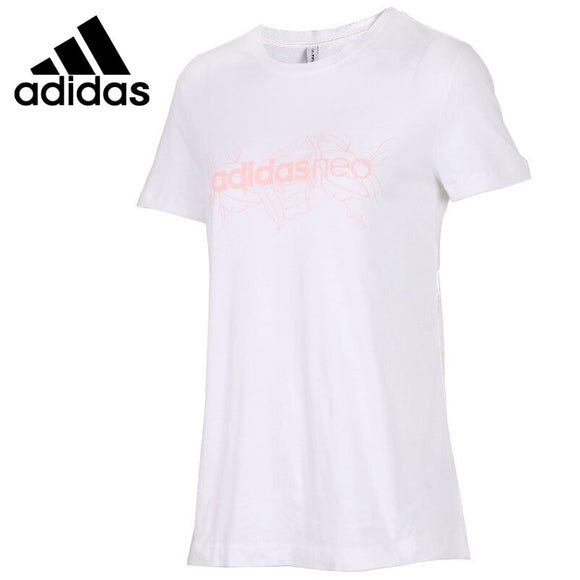 Original New Arrival  Adidas Neo Label  W T SS STN Women's T-shirts short sleeve Sportswear