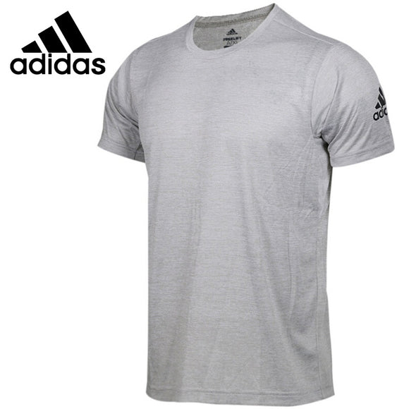 Original New Arrival 2018 Adidas FreeLift gradi Men's T-shirts short sleeve Sportswear