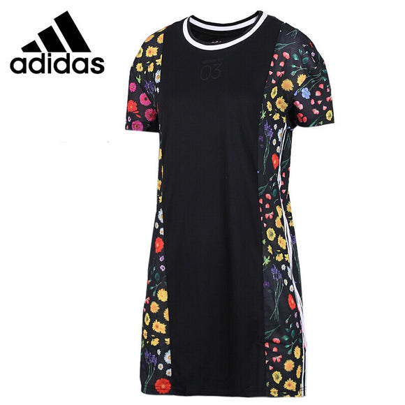 Original New Arrival  Adidas NEO Label W CS 3S Women's long T-shirts short sleeve Sportswear