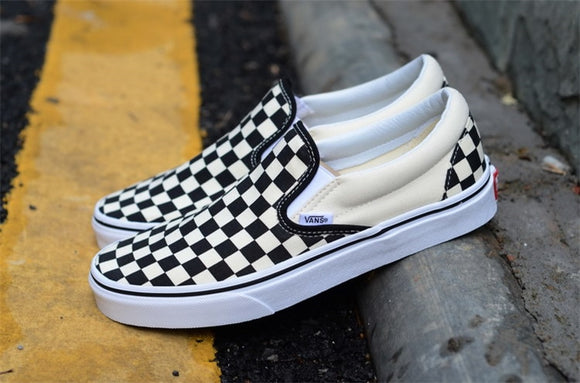 Free shipping Vans Lattice series Men canvas shoes, Vans Sports Shoes ,Weight lifting shoes Sneakers shoes SIZE 40-44