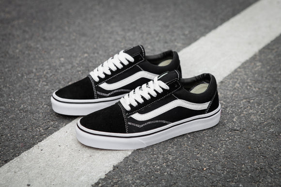VANS OLD SKOOL Classic Mens Sneakers shoes,canvas shoes,Sports shoes black Weight lifting shoes Free Shipping  size 40-44