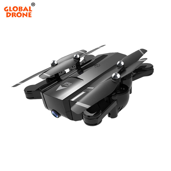 Global Drone RC Helicopter Foldable FPV Drone Quadcopter Follow Me Drones with Camera HD Profissional GPS Drone VS SG900-S