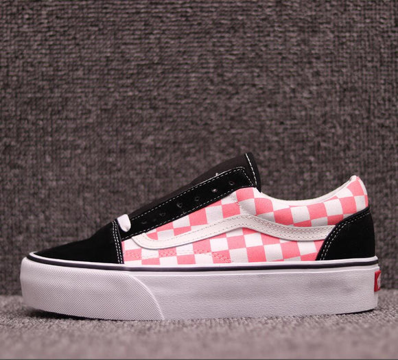 2018 VANS Old Skool Platfor Classic Womens Sneakers canvas shoes VN0A3B3UBKA Sports shoes Weight lifting shoes Eur 36-40