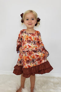Cinnamon Rose Dress