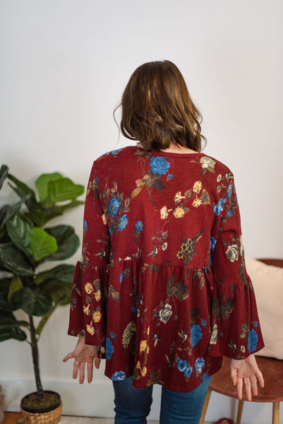 Nora Floral Top