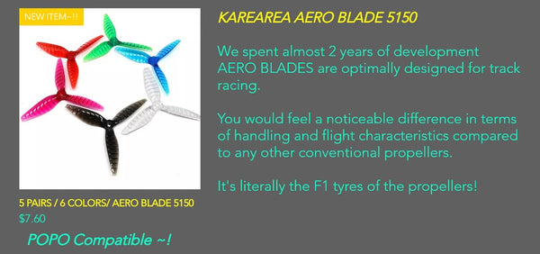 Karearea Aero Blade 5150 Color Blue