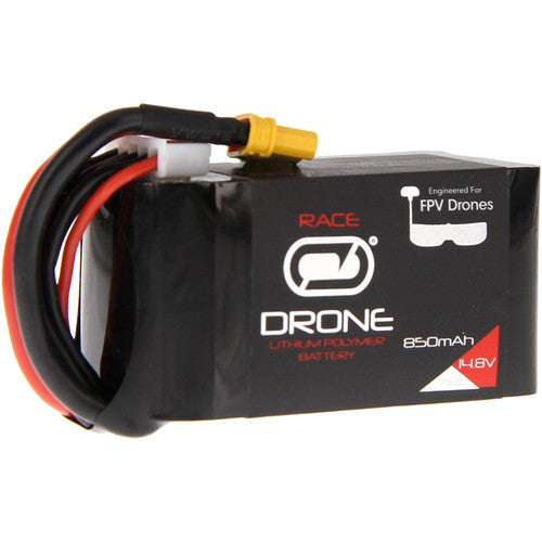 VENOM 75C 4S 850MAH 14.8V DRONE RACING LIPO WITH XT30 PLUG