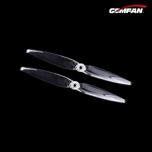 Gemfan Flash 7042 Durable 2 Blade (Clear) - Set of 4
