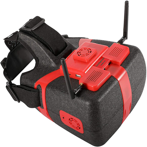 Flysight FPV Goggles ViewOptixHD VOHD720 with built-in AV and HDMI Source with DVR