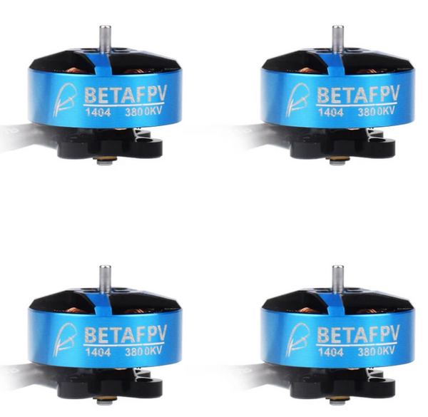 BetaFPV 1404 3800KV Brushless Motors (4pcs.)