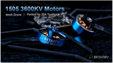 BetaFPV 1505 3600KV Brushless Motors (4pcs.)