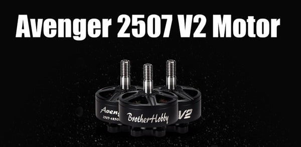 Brother Hobby Avenger V2 2507-1200Kv BL Motor set-4pcs