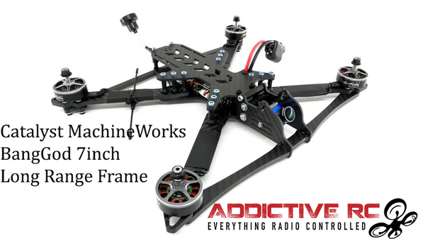Catalyst Machineworks BANGGOD 7 INCH (LONG RANGE / FREESTYLE) Frame Kit