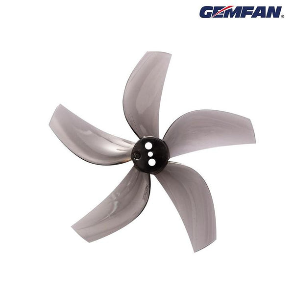 Gemfan D63 Ducted Durable Penta-Blade 63mm Cinewhoop Prop 8 Pack - Smoke Grey