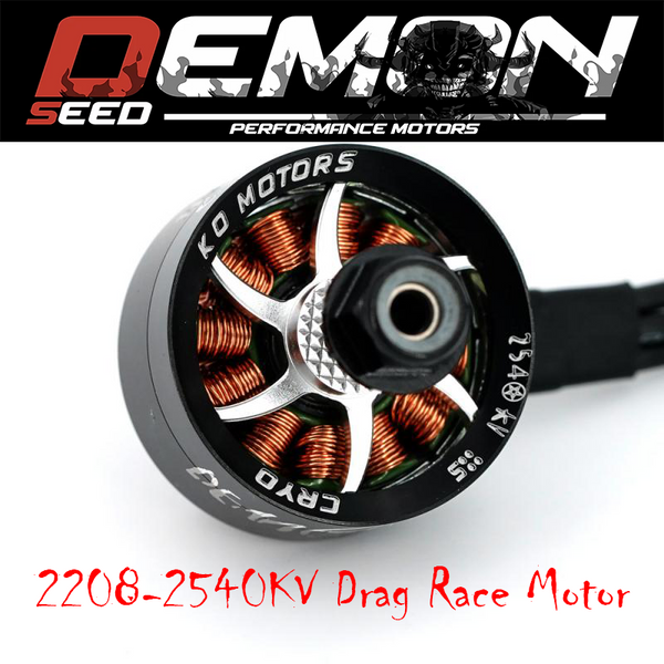 KO DEMON SEED 2208 2540KV - SILVER (1pcs.)