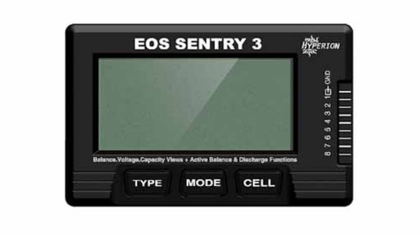 EOS SENTRY BATTERY CHECKER+ BALANCER