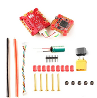 HGLRC ZeusF745 STACK FPV Racing Drone 3-6S F7 Flight Controller 45A BL32 4in1 ESC Heat Sink Compass Port