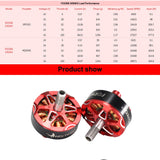 HGLRC Forward  FD2306-2450KV 4S Brushless Motors (4PCS.)