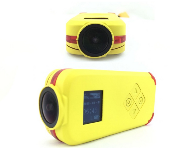 Hawkeye Firefly Q6 4K 1080P 24FPS HD Mini Camera