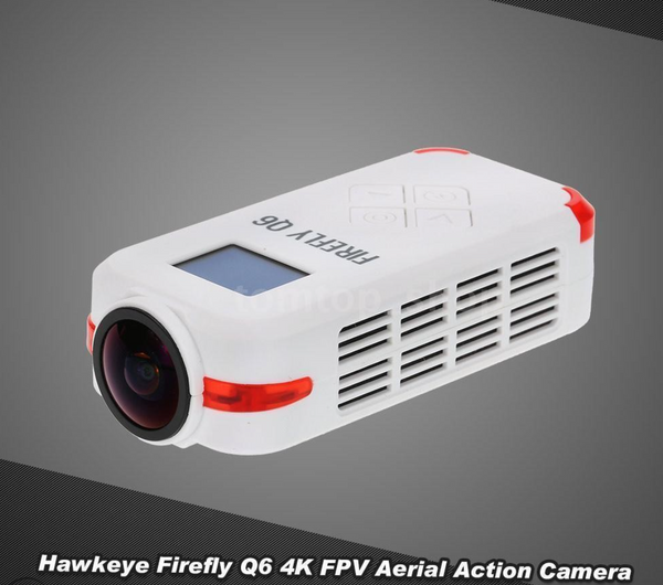 Hawkeye Firefly Q6 4K 1080P 24FPS HD Mini Camera-White