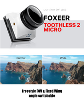 Foxeer Toothless 2 Micro 1/2'' 1200TVL Full weather FPV Camera (M12)