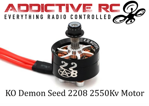 KO DEMON SEED 2208 2550KV - WHITE