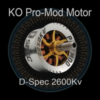 KO Method Drag Motor 2210-2600Kv (Blue+Gold) 1pcs.