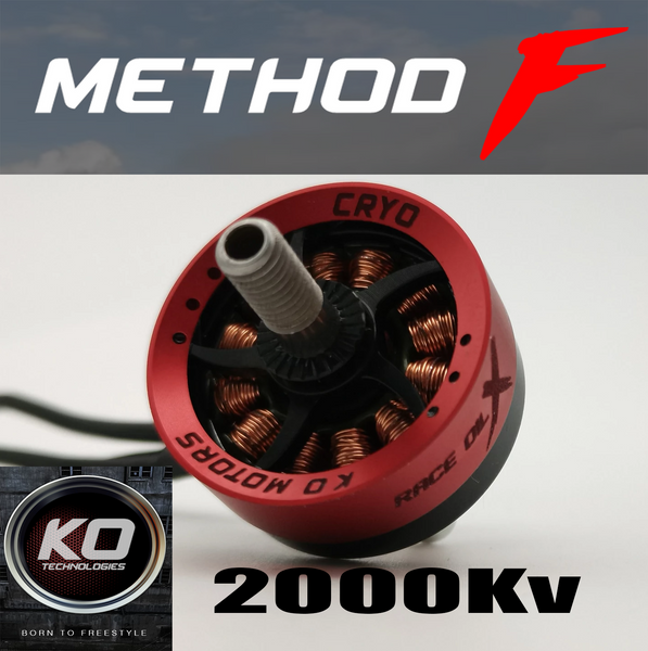 KO Method-F Freestyle Motor 2307.5 2000KV Motor (1pcs.)