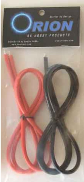 Orion 10 Gauge (Awg) Wire - Red/Blk - 1 Meter Each