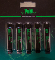 PULSE 220mAh 1S 3.7V 45C BATTERY WITH E-FLITE CONNECTOR - 5 PACK